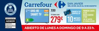 Oferta smart tv del 23 de julio al 12 de Agosto