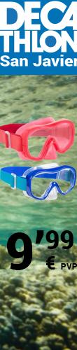 Máscara de snorkel