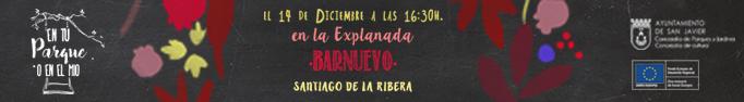 En tu parque o en el mio se traslada a la Explanada Barnuevo de Santiago de la Ribera en Murcia