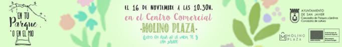 En tu parque o en el mio se traslada al Centro Comercial Molino Plaza de San Javier (Murcia)
