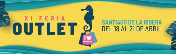 El XI Outlet Santiago de la Ribera se inaugura el día 18 de Abril 2019