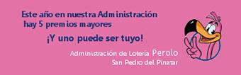 Administración de Loterias Perolo en San Pedro del Pinatar