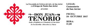 Don Juan Tenorio regresa al cementerio de San Javier