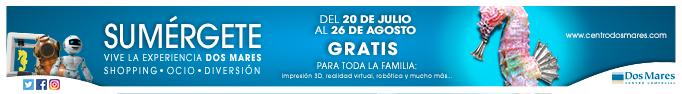 Del 20 de Julio al 26 de Agosto gratis para toda la familia