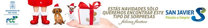 Campaña Navidad 2018 de Pásalo a limpio San Javier