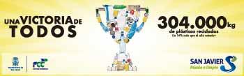 Una victoria de todos 304000 Kilos de plásticos reciclados.